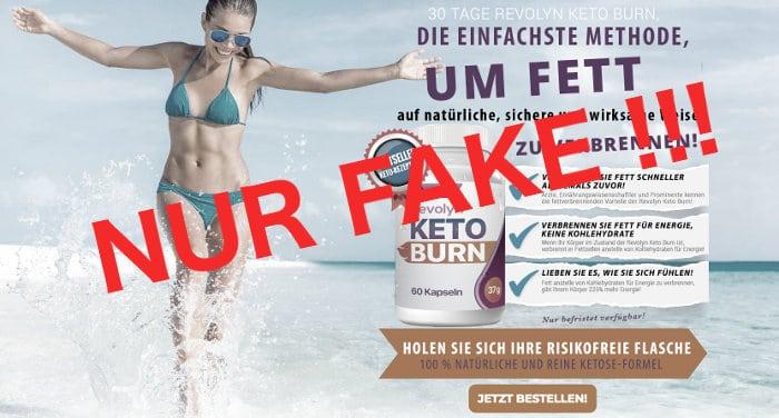 Ist auch Revolyn Keto Burn nur Fake?
